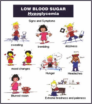 low blood sugar